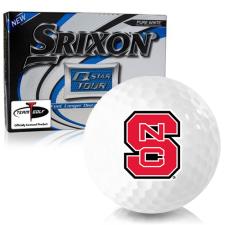 Srixon Q-Star Tour 3 North Carolina State Wolfpack Golf Balls