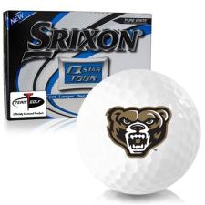 Srixon Q-Star Tour 3 Oakland Golden Grizzlies Golf Balls