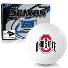 Srixon Q-Star Tour 3 Ohio State Buckeyes Golf Balls