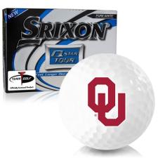 Srixon Q-Star Tour 3 Oklahoma Sooners Golf Balls
