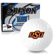 Srixon Q-Star Tour 3 Oklahoma State Cowboys Golf Balls