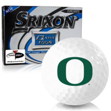 Srixon Q-Star Tour 3 Oregon Ducks Golf Balls