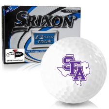 Srixon Q-Star Tour 3 Stephen F. Austin Lumberjacks Golf Balls