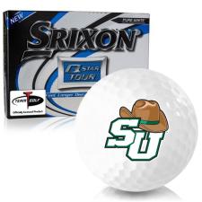 Srixon Q-Star Tour 3 Stetson Hatters Golf Balls