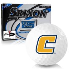 Srixon Q-Star Tour 3 Tennessee Chattanooga Mocs Golf Balls