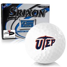 Srixon Q-Star Tour 3 Texas El Paso Miners Golf Balls