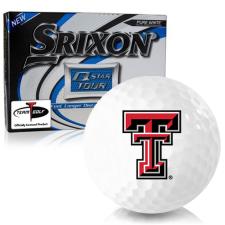 Srixon Q-Star Tour 3 Texas Tech Red Raiders Golf Balls