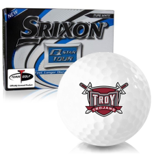 Srixon Q-Star Tour 3 Troy Trojans Golf Balls