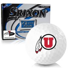 Srixon Q-Star Tour 3 Utah Utes Golf Balls