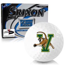 Srixon Q-Star Tour 3 Vermont Catamounts Golf Balls