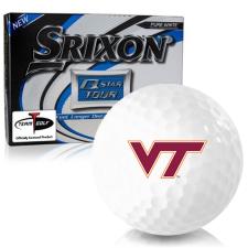 Srixon Q-Star Tour 3 Virginia Tech Hokies Golf Balls