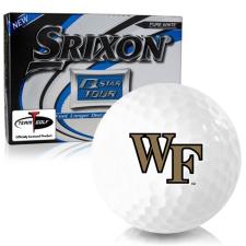 Srixon Q-Star Tour 3 Wake Forest Demon Deacons Golf Balls