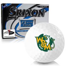 Srixon Q-Star Tour 3 William & Mary Tribe Golf Balls