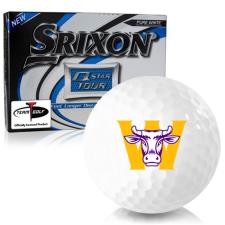 Srixon Q-Star Tour 3 Williams College Ephs Golf Balls