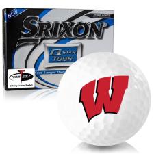 Srixon Q-Star Tour 3 Wisconsin Badgers Golf Balls