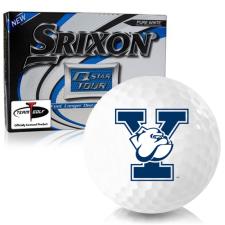 Srixon Q-Star Tour 3 Yale Bulldogs Golf Balls