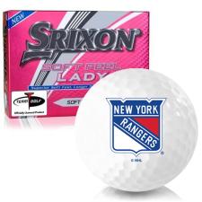 Srixon Soft Feel Lady New York Rangers Golf Balls