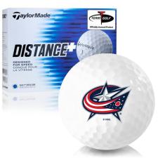 Taylor Made Distance+ Columbus Blue Jackets Golf Balls