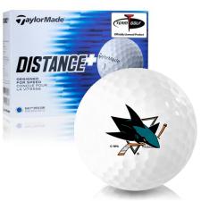 Taylor Made Distance+ San Jose Sharks Golf Balls