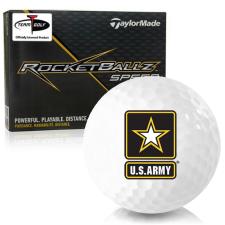 Taylor Made Rocketballz Speed US Army Golf Balls