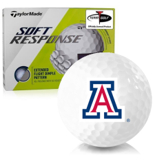 Taylor Made Soft Response Arizona Wildcats Golf Ball