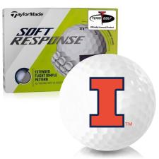 Taylor Made Soft Response Illinois Fighting Illini Golf Ball