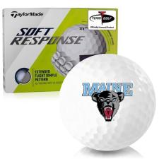 Taylor Made Soft Response Maine Black Bears Golf Ball