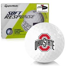 Taylor Made Soft Response Ohio State Buckeyes Golf Ball