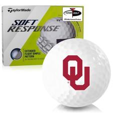 Taylor Made Soft Response Oklahoma Sooners Golf Ball