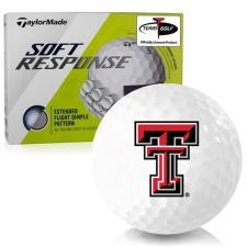 Taylor Made Soft Response Texas Tech Red Raiders Golf Ball