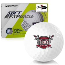Taylor Made Soft Response Troy Trojans Golf Ball