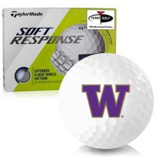 Taylor Made Soft Response Washington Huskies Golf Ball