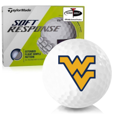 Taylor Made Soft Response West Virginia Mountaineers Golf Ball