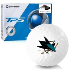 Taylor Made TP5 San Jose Sharks Golf Balls