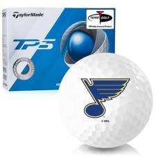 Taylor Made TP5 St. Louis Blues Golf Balls