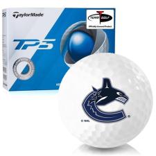 Taylor Made TP5 Vancouver Canucks Golf Balls