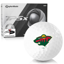 Taylor Made TP5x Minnesota Wild Golf Balls
