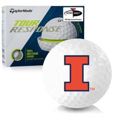 Taylor Made Tour Response Illinois Fighting Illini Golf Balls