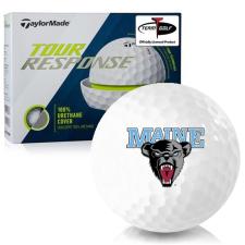 Taylor Made Tour Response Maine Black Bears Golf Balls