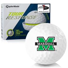 Taylor Made Tour Response Marshall Thundering Herd Golf Balls