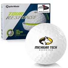 Taylor Made Tour Response Michigan Tech Huskies Golf Balls