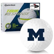Taylor Made Tour Response Michigan Wolverines Golf Balls