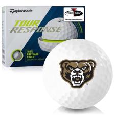 Taylor Made Tour Response Oakland Golden Grizzlies Golf Balls