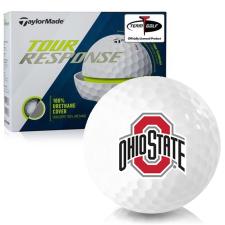 Taylor Made Tour Response Ohio State Buckeyes Golf Balls