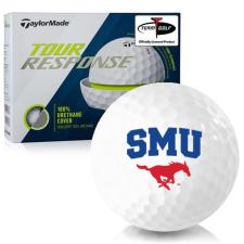 Taylor Made Tour Response SMU Mustangs Golf Balls