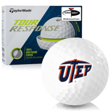 Taylor Made Tour Response Texas El Paso Miners Golf Balls