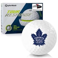 Taylor Made Tour Response Toronto Maple Leafs Golf Balls