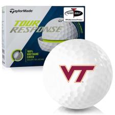 Taylor Made Tour Response Virginia Tech Hokies Golf Balls