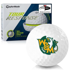 Taylor Made Tour Response William & Mary Tribe Golf Balls