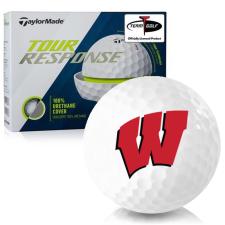 Taylor Made Tour Response Wisconsin Badgers Golf Balls